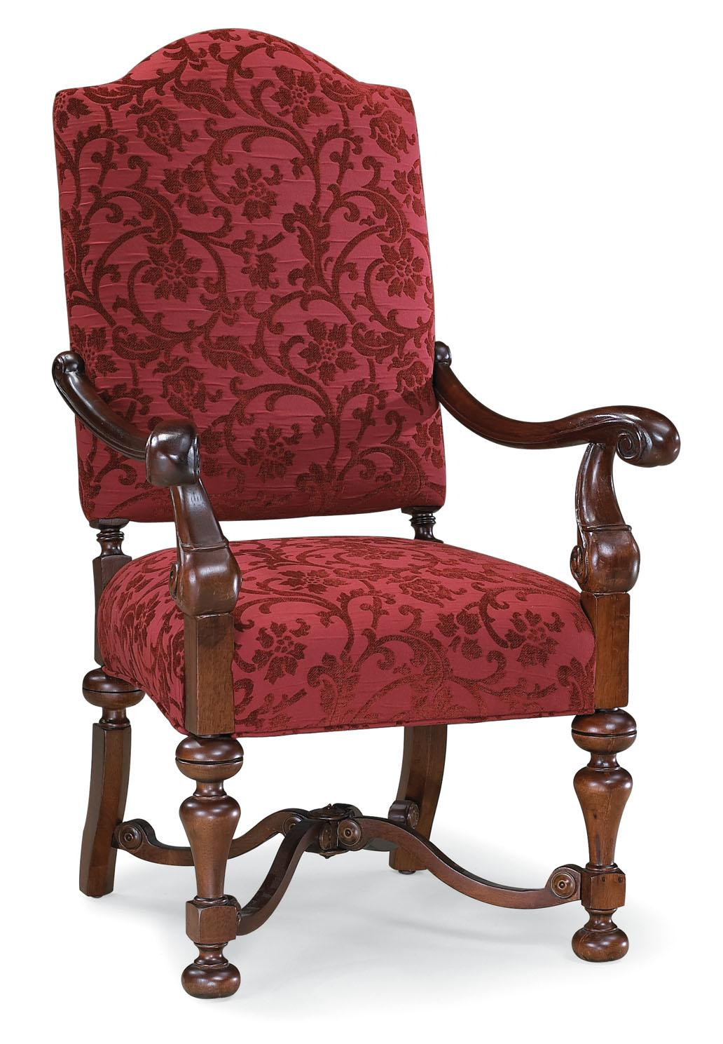 Fairfield Chairs Exposed Wood Chair - Item Number: 5456-01