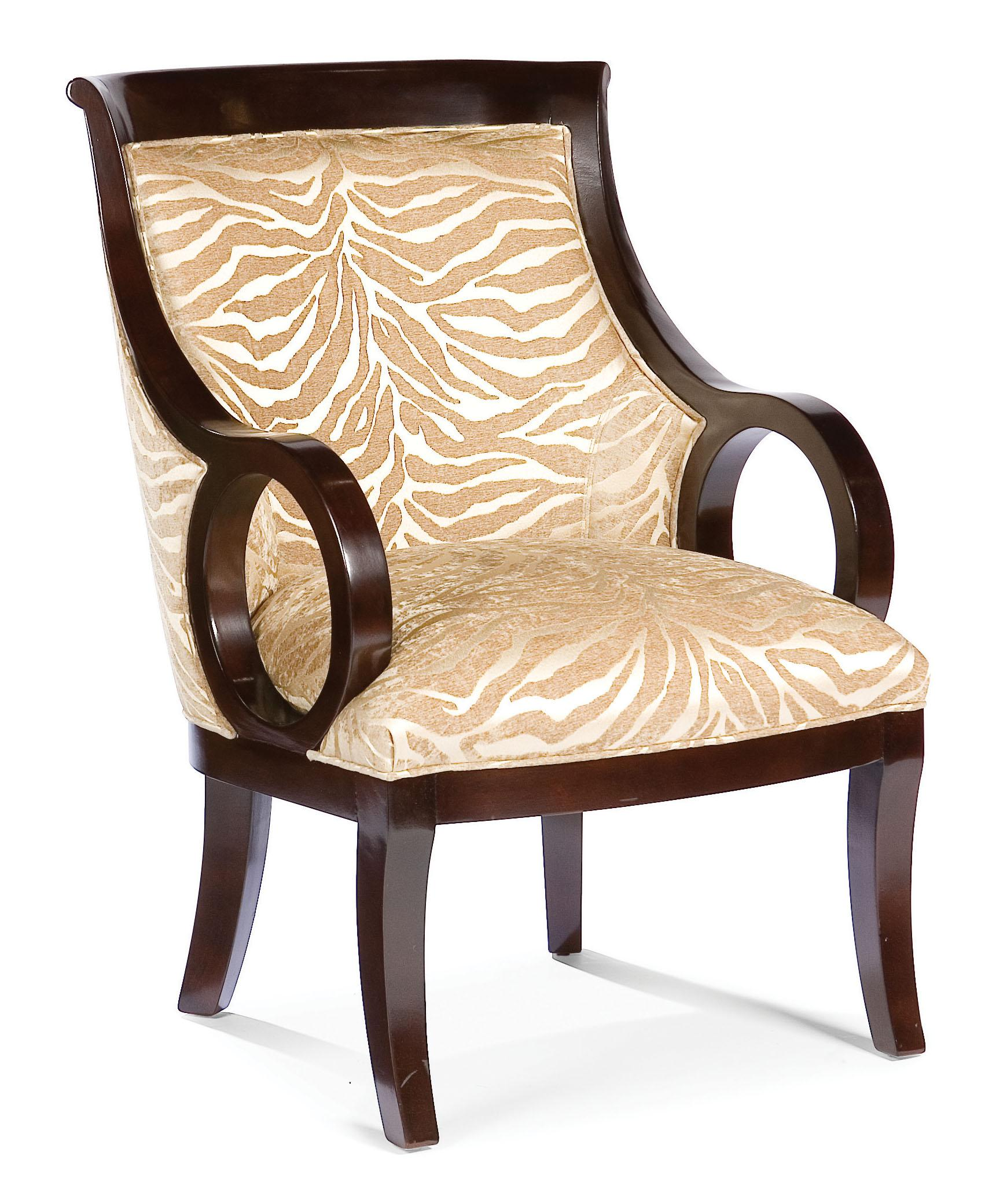 Fairfield Chairs Exposed Wood Occasional Chair - Item Number: 5459-01