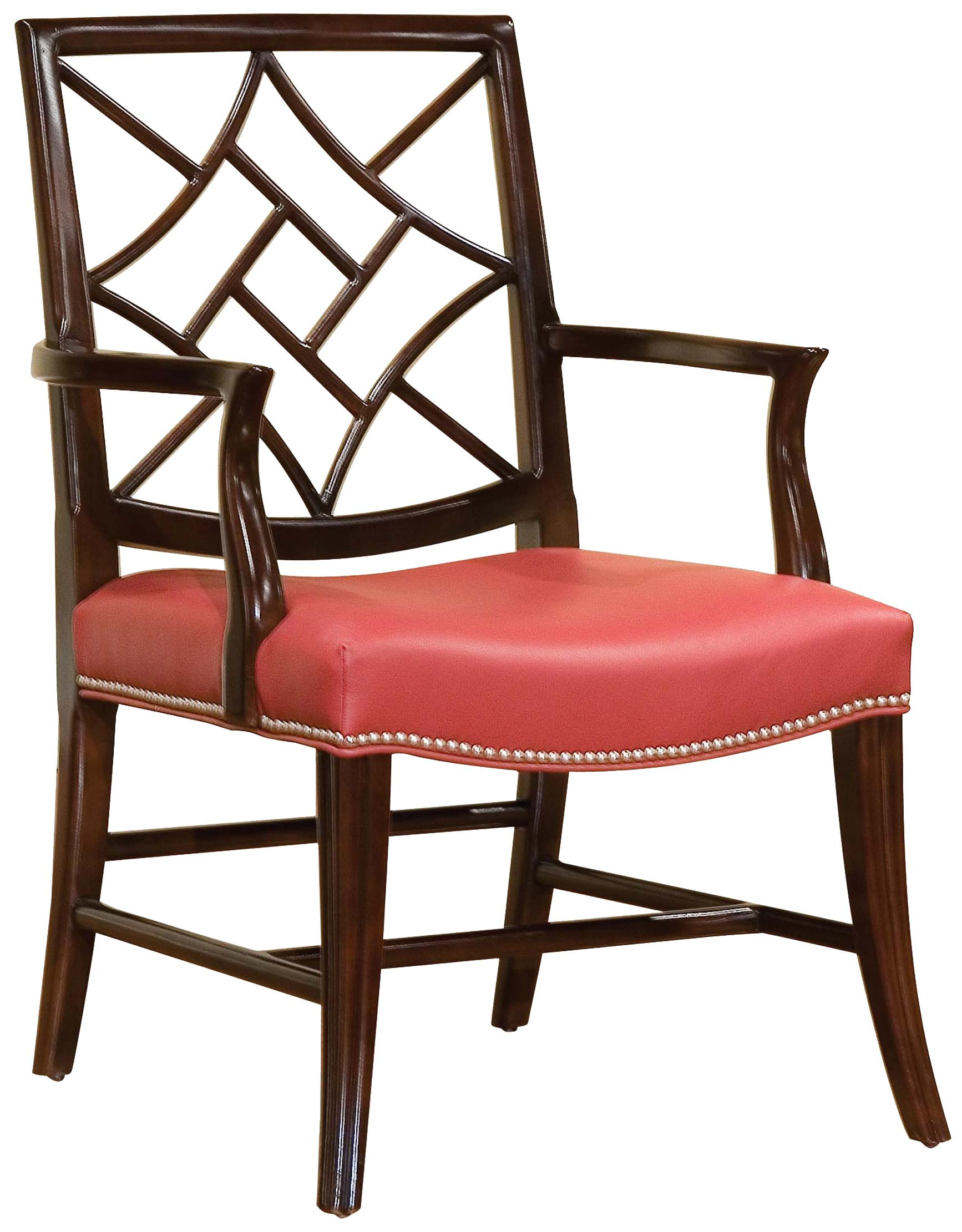 Fairfield Chairs Chair with Elegant Back Cut-Out - Item Number: 5460-01