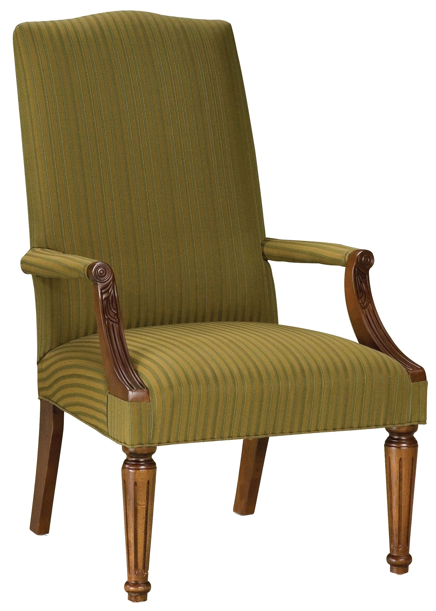 Fairfield Chairs Transitional Chair - Item Number: 5463-01