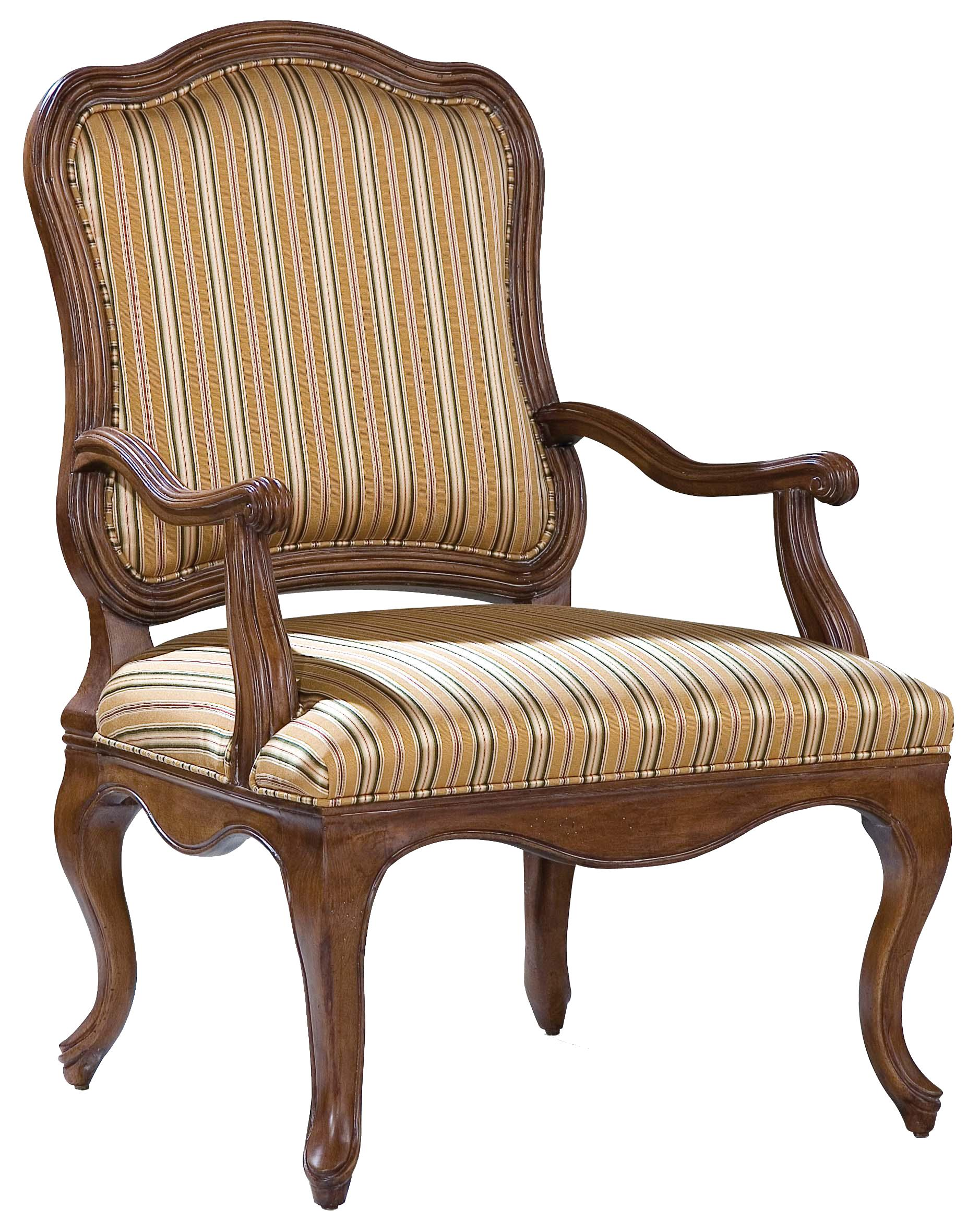 Fairfield Chairs Accent Chair with Curving Frame - Item Number: 5465-01