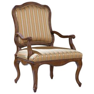 Accent Chair with Curving Frame