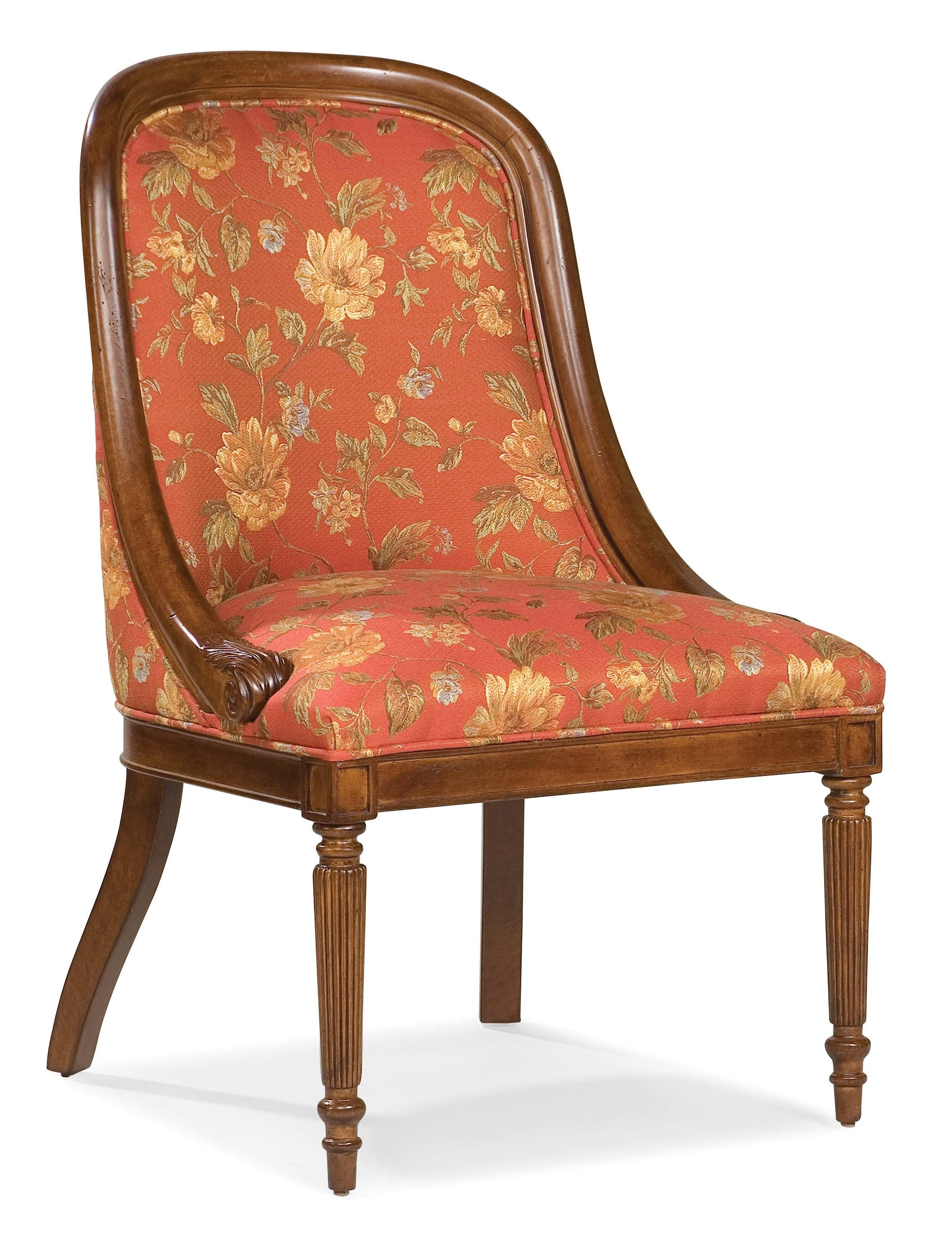Fairfield Chairs Exposed Wood Chair - Item Number: 5466-05