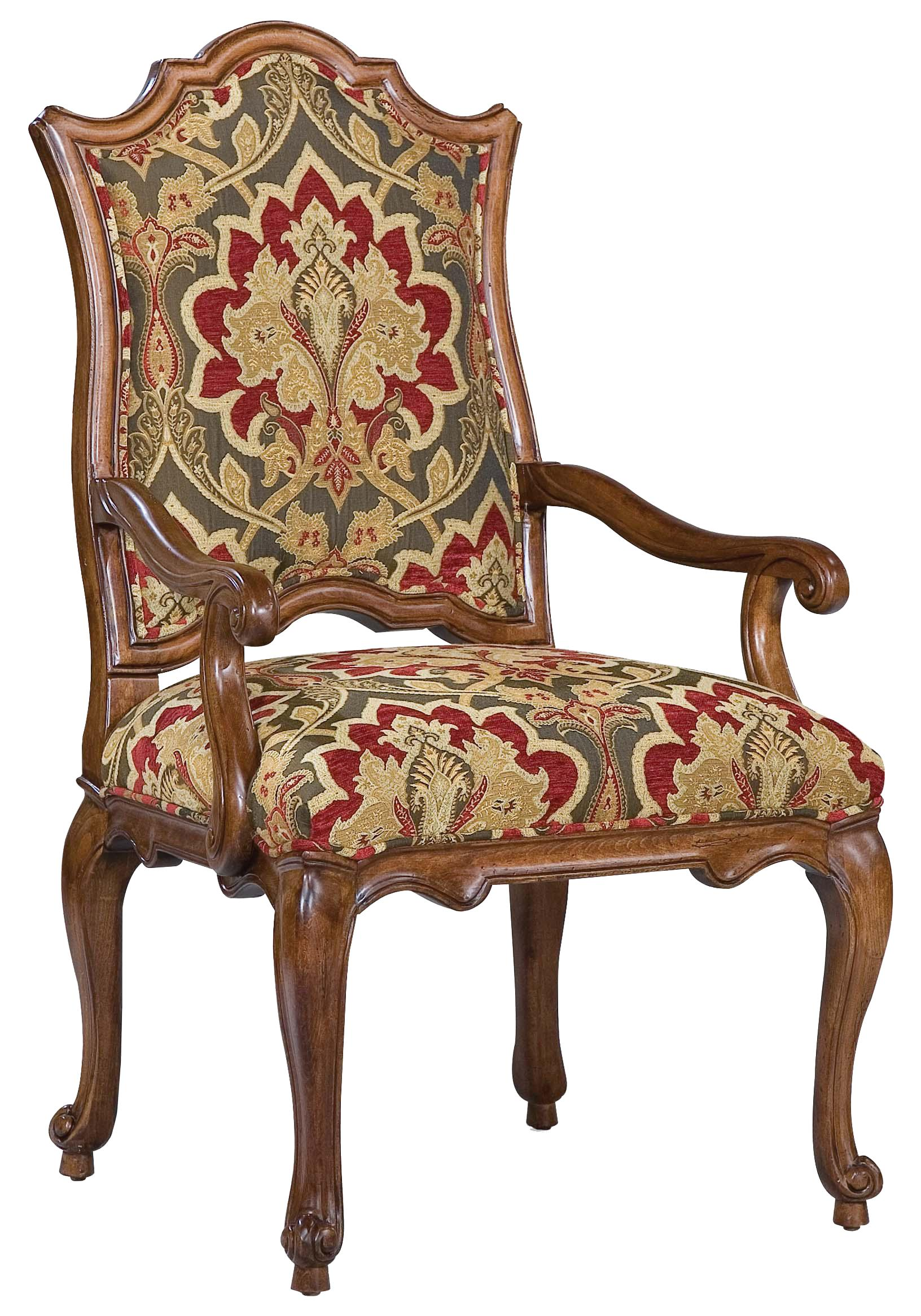 Fairfield Chairs Victorian Accent Arm Chair - Item Number: 5473-04