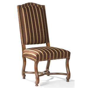 Exposed Wood Side Chair