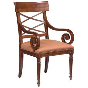 Scroll-Arm Chair