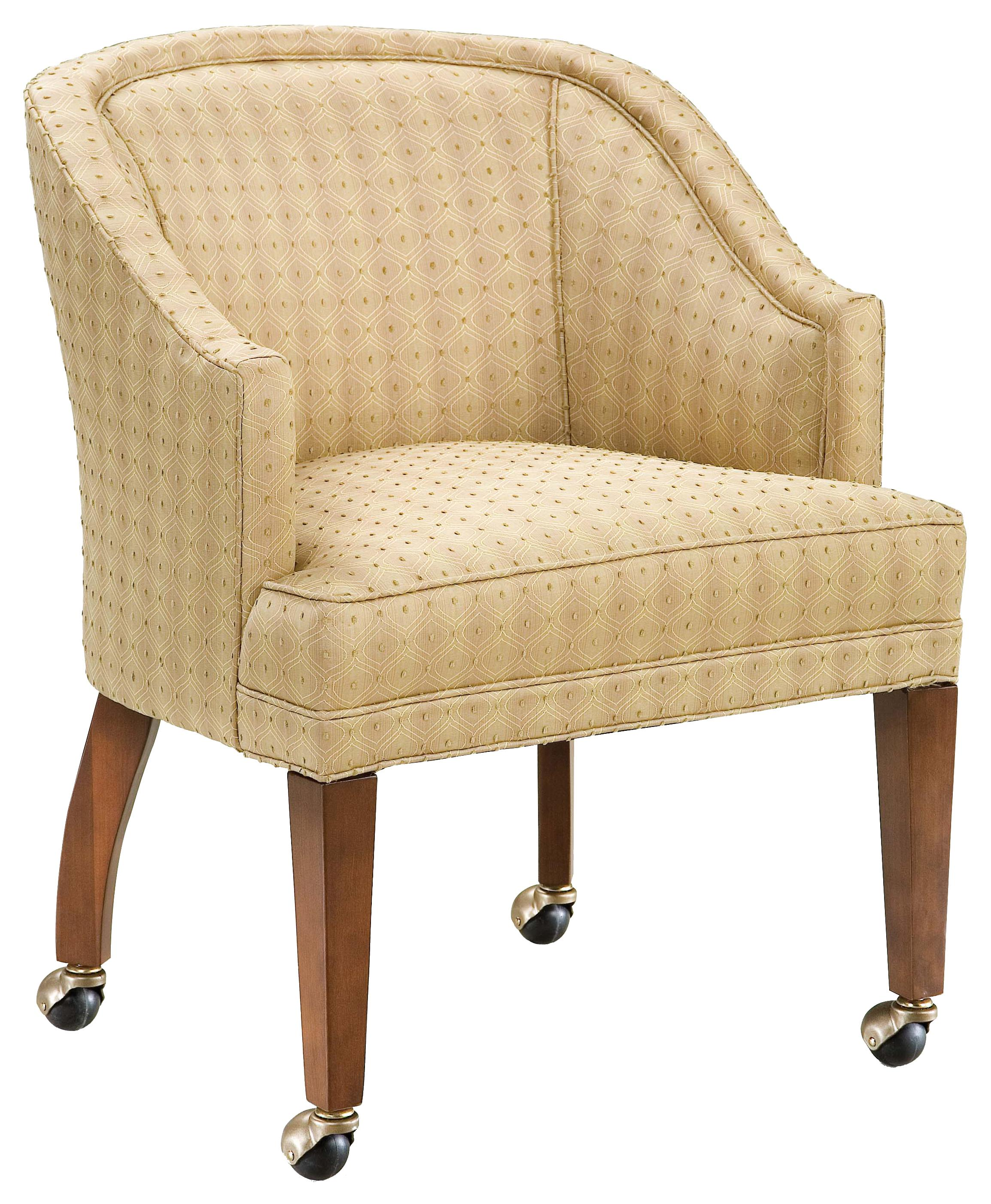 Fairfield Chairs Caster Wheel Lounge Chair - Item Number: 6015-01