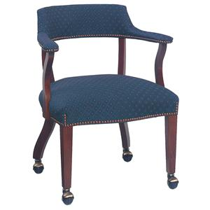 Thin Back Caster Chair