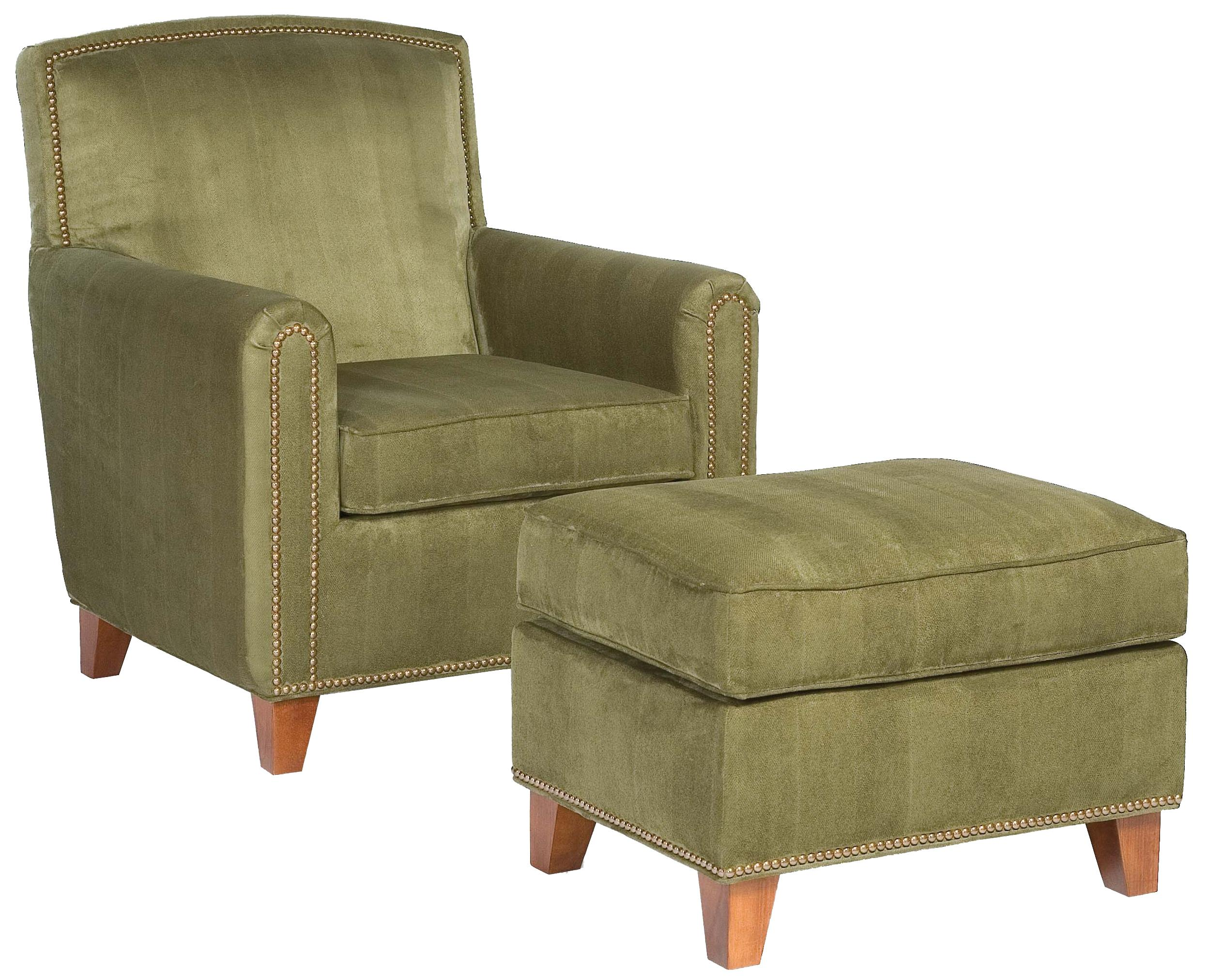 Fairfield Chairs Plush Chair & Ottoman Set - Item Number: 6026-01+20