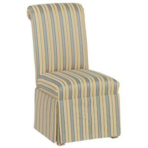 Fairfield Chairs Rolled Back Skirted Chair