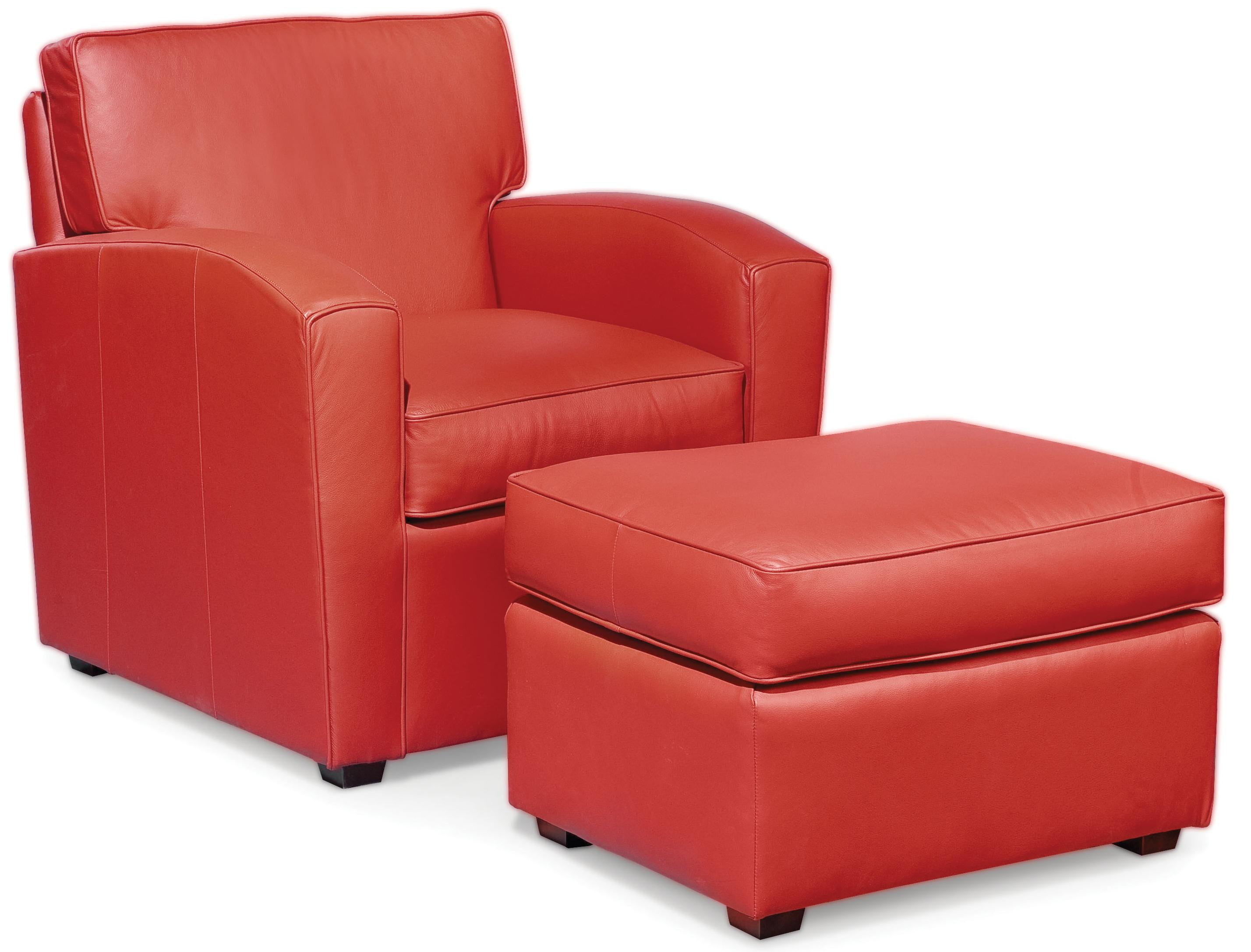 Fairfield Chairs Chair & Ottoman - Item Number: 6035-01+20