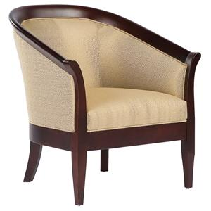 Fairfield Chairs High-Arm Wrap-Around Chair