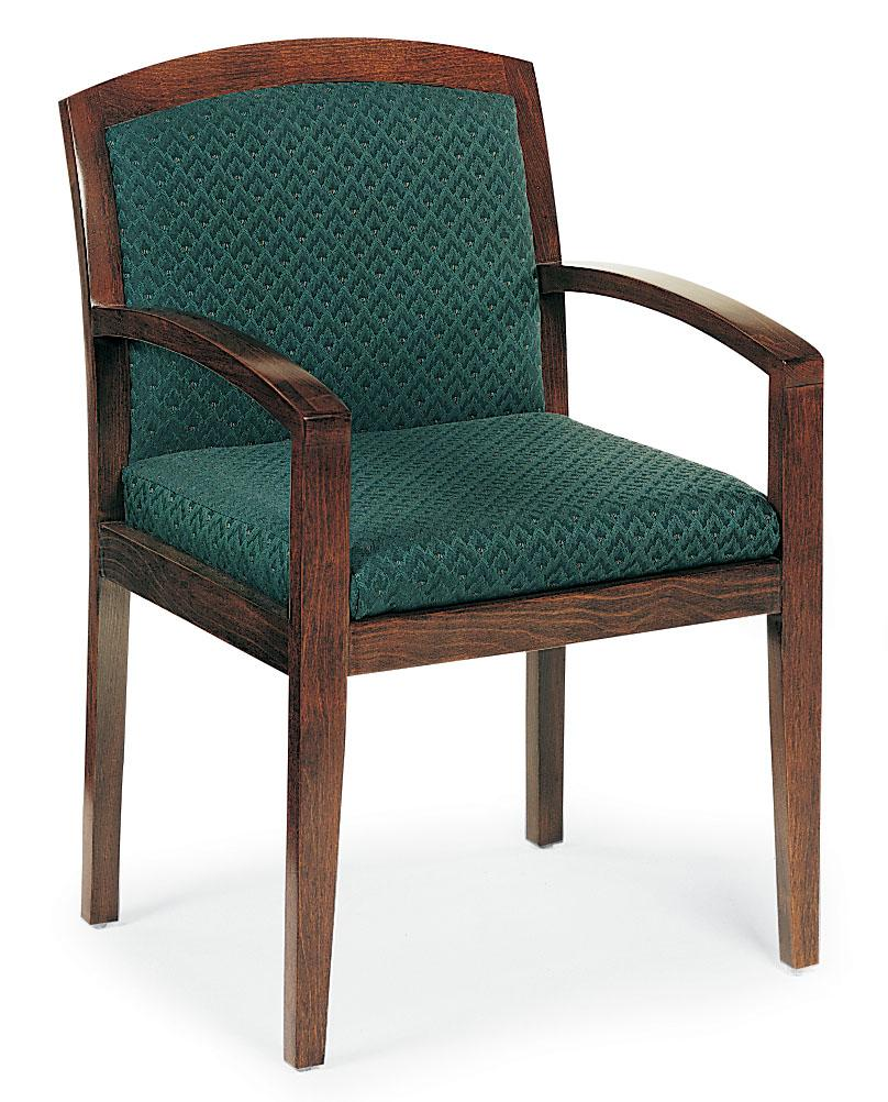 Stationary Exposed-Wood Chair