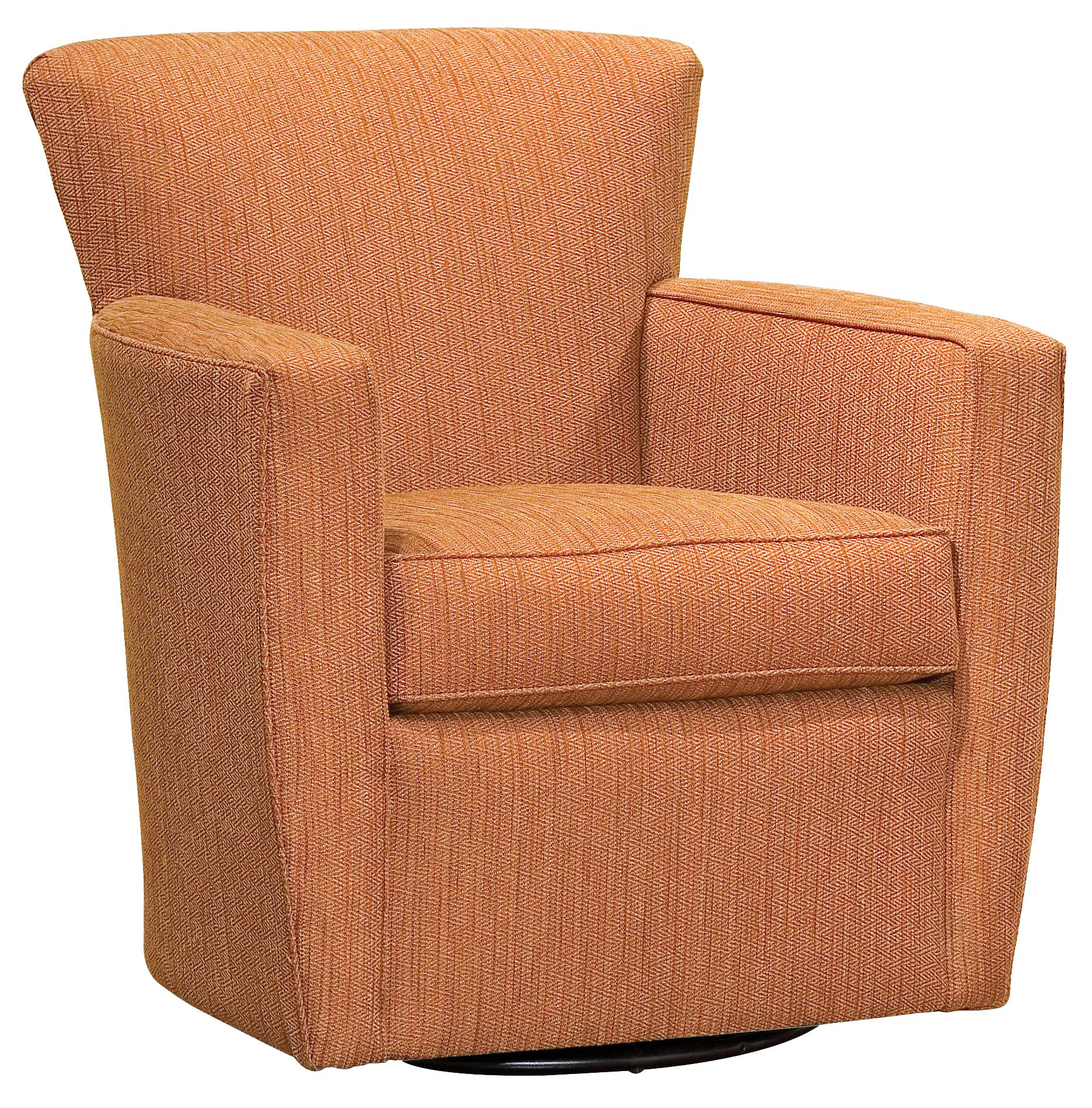 Fairfield Chairs Contemporary Swivel Chair - Item Number: 6121-31