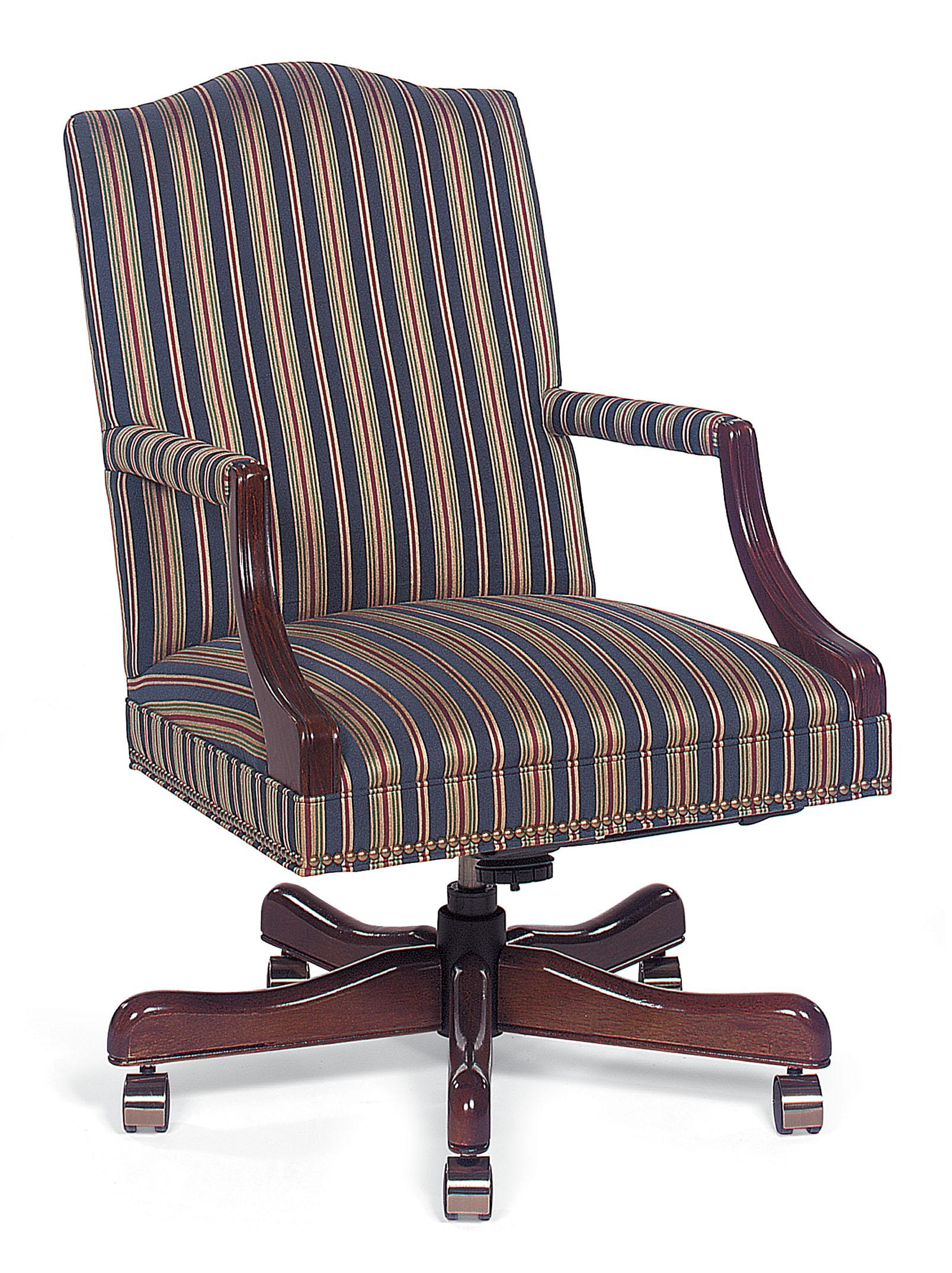 Office Furnishings Executive Swivel Chair by Fairfield at Belfort Furniture