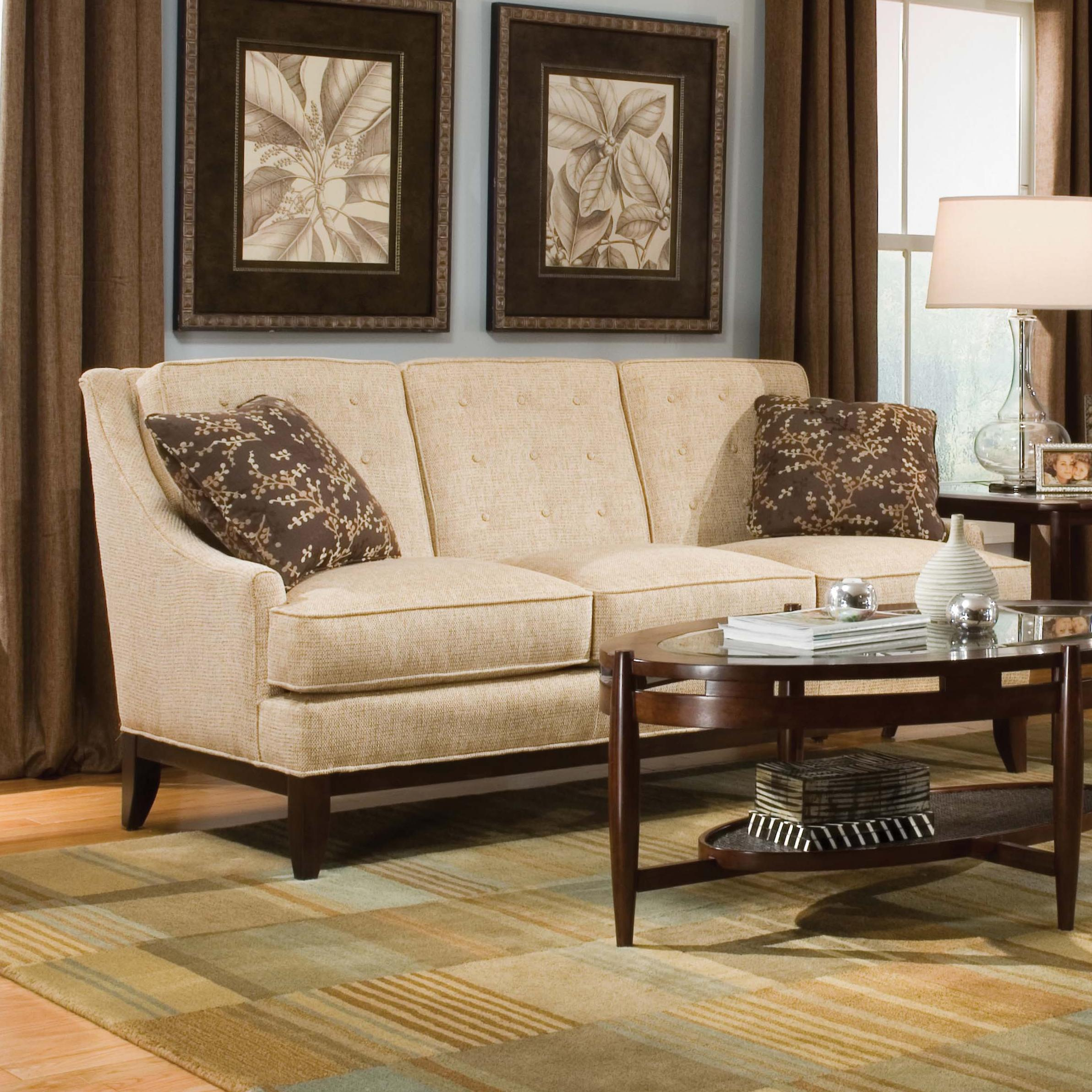Sofa Mart Accent Chairs: Fairfield Sofa Accents Button Tufted Accent Sofa