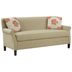 Fairfield Sofa Accents Simple and Elegant Un-Cluttered Sofa