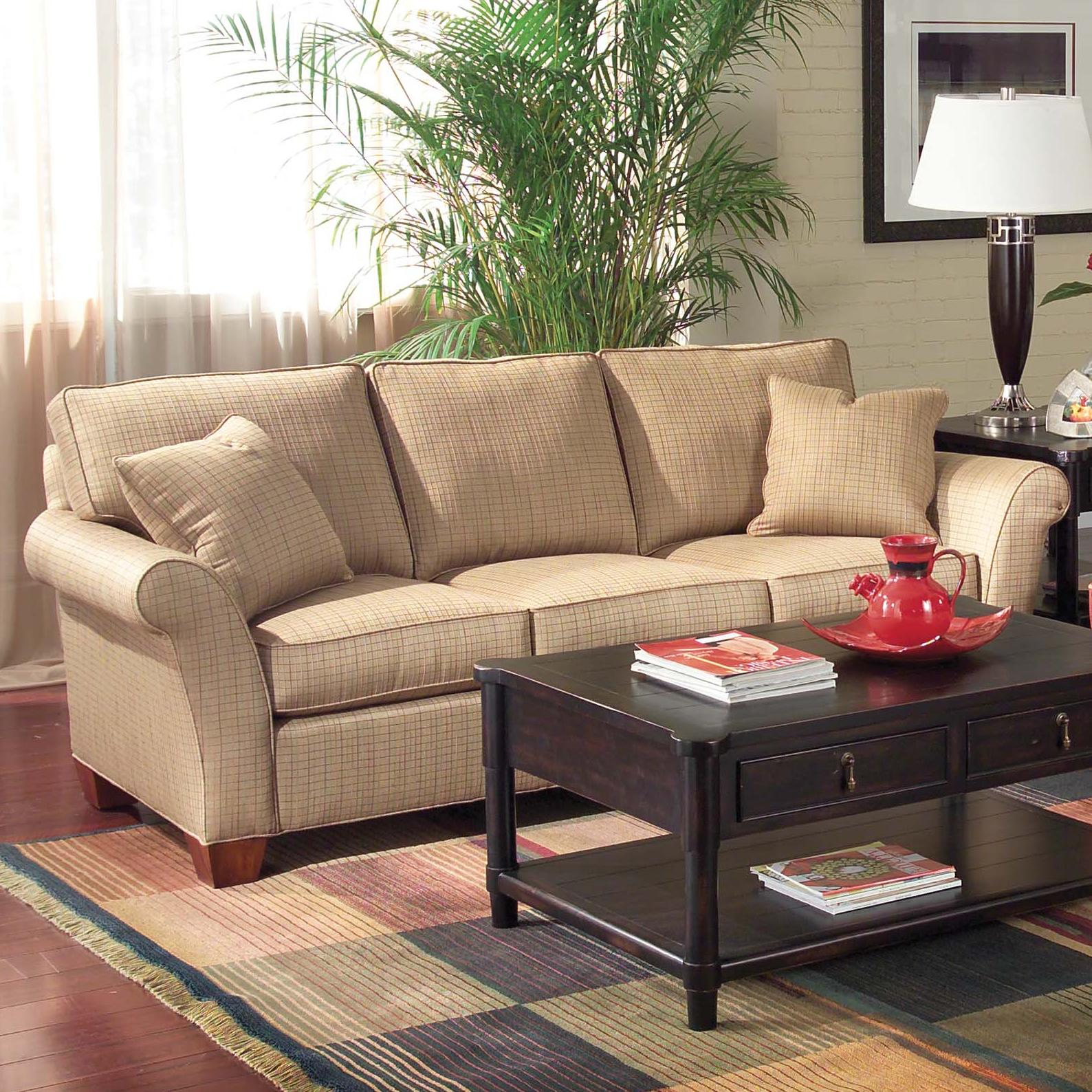 Sofa Accents Flair-Arm Sofa by Fairfield at Belfort Furniture