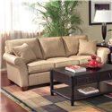 Fairfield Sofa Accents Flair-Arm Sofa - Item Number: 3718-50
