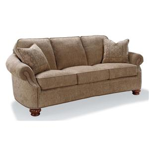Fairfield Sofa Accents Rolled Arm Accent Sofa