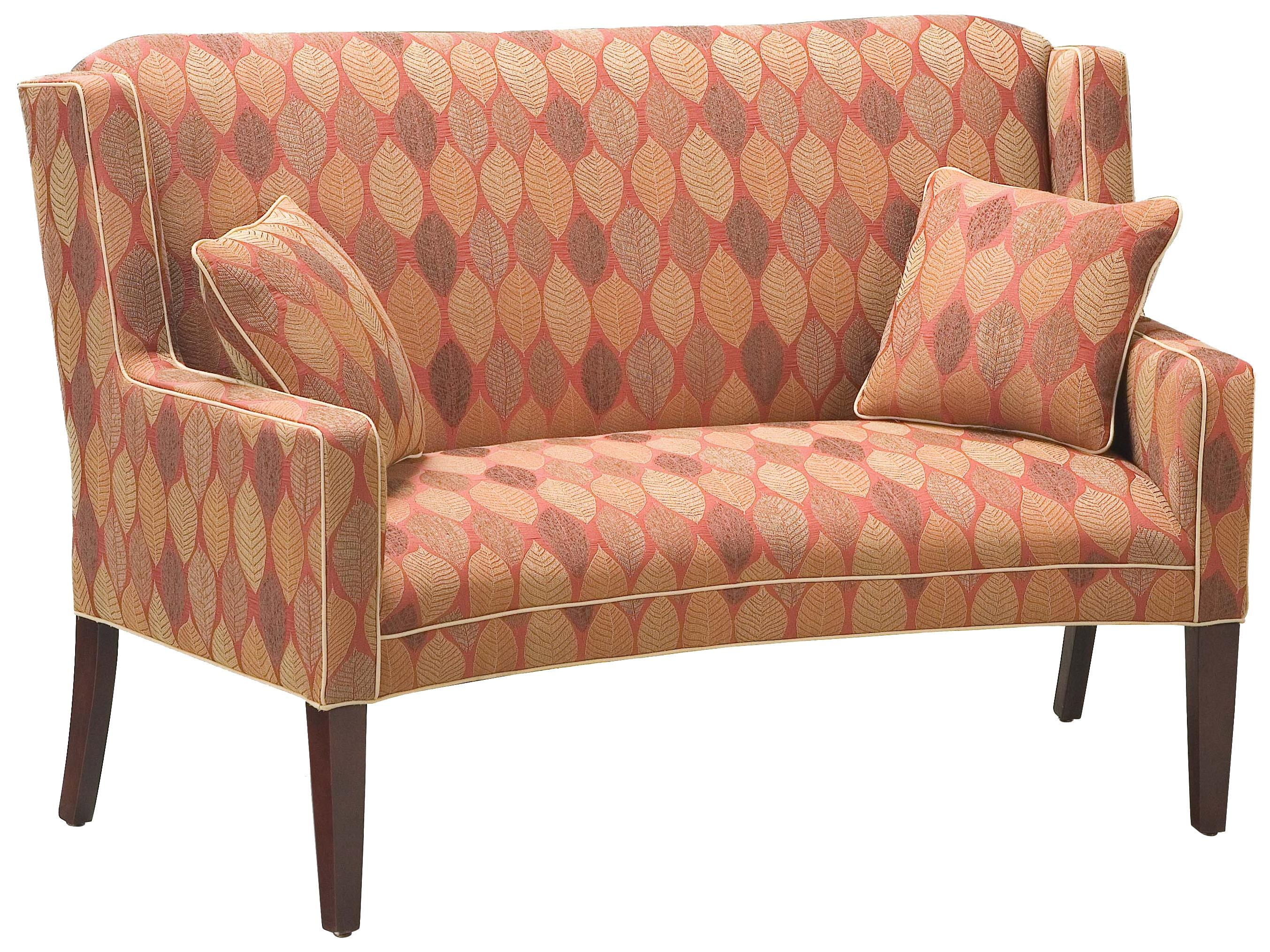 Fairfield Sofa Accents Curved Settee   Item Number: 5796 40