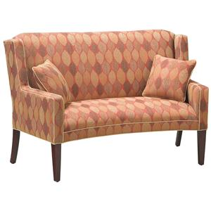 Fairfield Sofa Accents Curved Settee