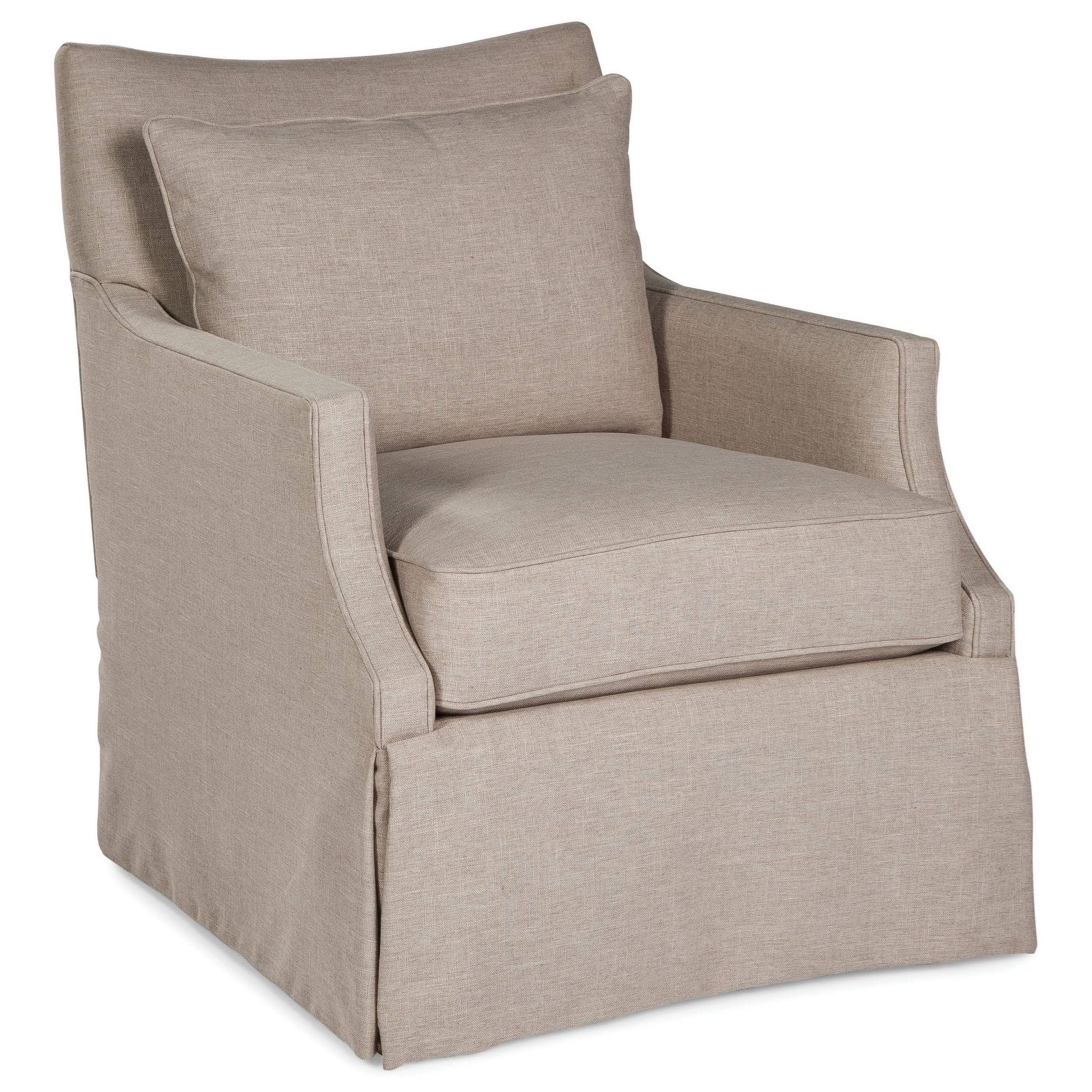 Fairfield Swivel Accent Chairs 1429 31 Swivel Chair With
