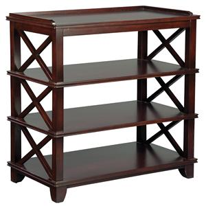 Fairfield Tables Casual Dining Room Side Table with Storage