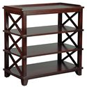 Fairfield Tables Casual Dining Room Side Table with Storage - Item Number: 8120-96