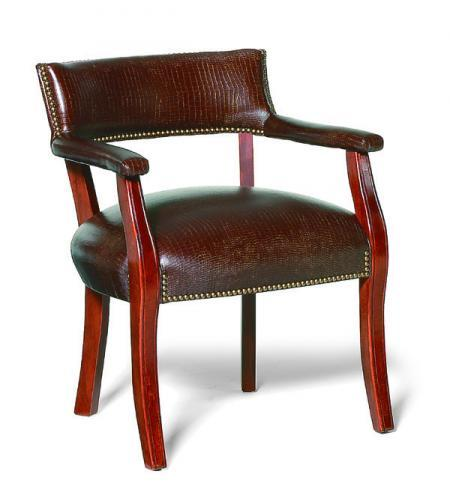 Fairfield Chairs Exposed Wood Occasional Chair - Item Number: 1019-01