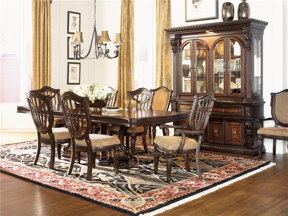 Morris Home Furnishings Grand Rapids Grand Rapids 5 Piece Dining Set - Item Number: 402-54T/B/07(4)