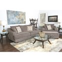 Fairmont Designs Avalon Casual Deep Seat Chair with Block Feet