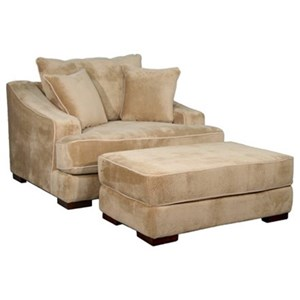 Fairmont Designs Cooper Chair and Ottoman Set