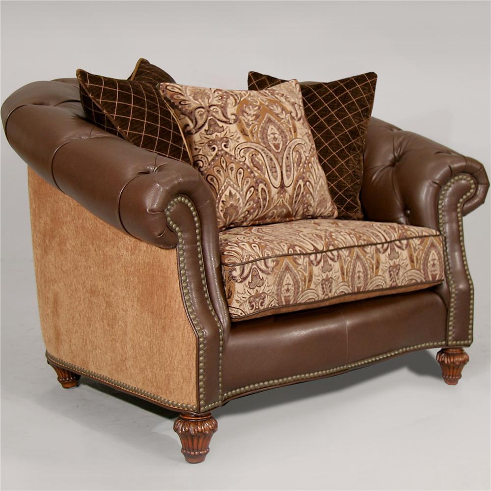 Fairmont Designs Estates II Matching Chair / Plush Caramel - Item Number: 384-11PCD