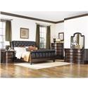 Fairmont Designs Grand Estates Queen 5 Piece Bedroom Group - Item Number: 02 Queen Bedroom Group