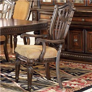 Fairmont Designs Grand Estates Wood Back Arm Chair