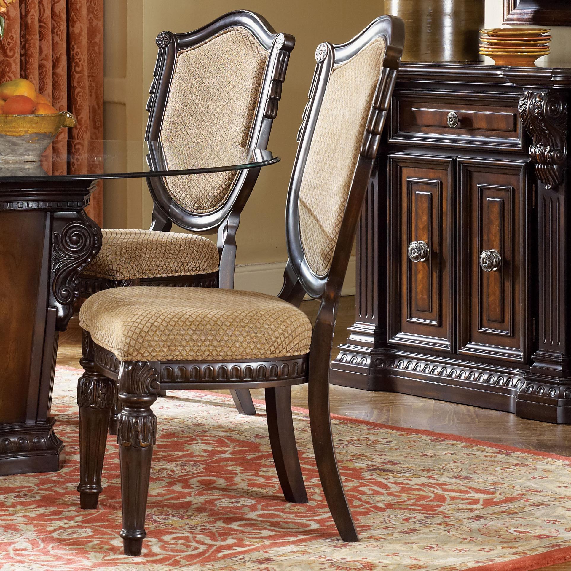 Fairmont Designs Grand Estates Upholstered Side Chair w ...