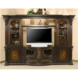 Morris Home Furnishings Grand Rapids Grand Rapids 6 Piece Wall Unit