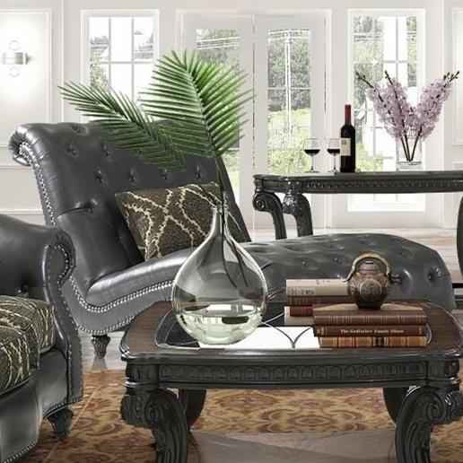 Grand Furniture Winchester: Fairmont Designs Grand Estates Traditional Armless Chaise