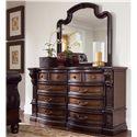 Fairmont Designs Grand Estates Dresser w/ 8 Drawers - Shown with Mirror