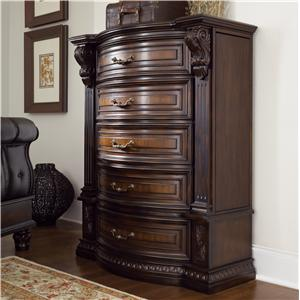 Morris Home Furnishings Grand Rapids Grand Rapids 5 Drawer Chest