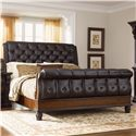 Morris Home Furnishings Grand Rapids King Sleigh Bed - Item Number: C7002-53+54+58