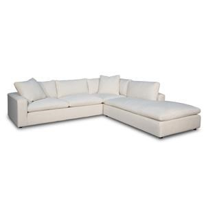 3 PC Bumper Chaise Sectional