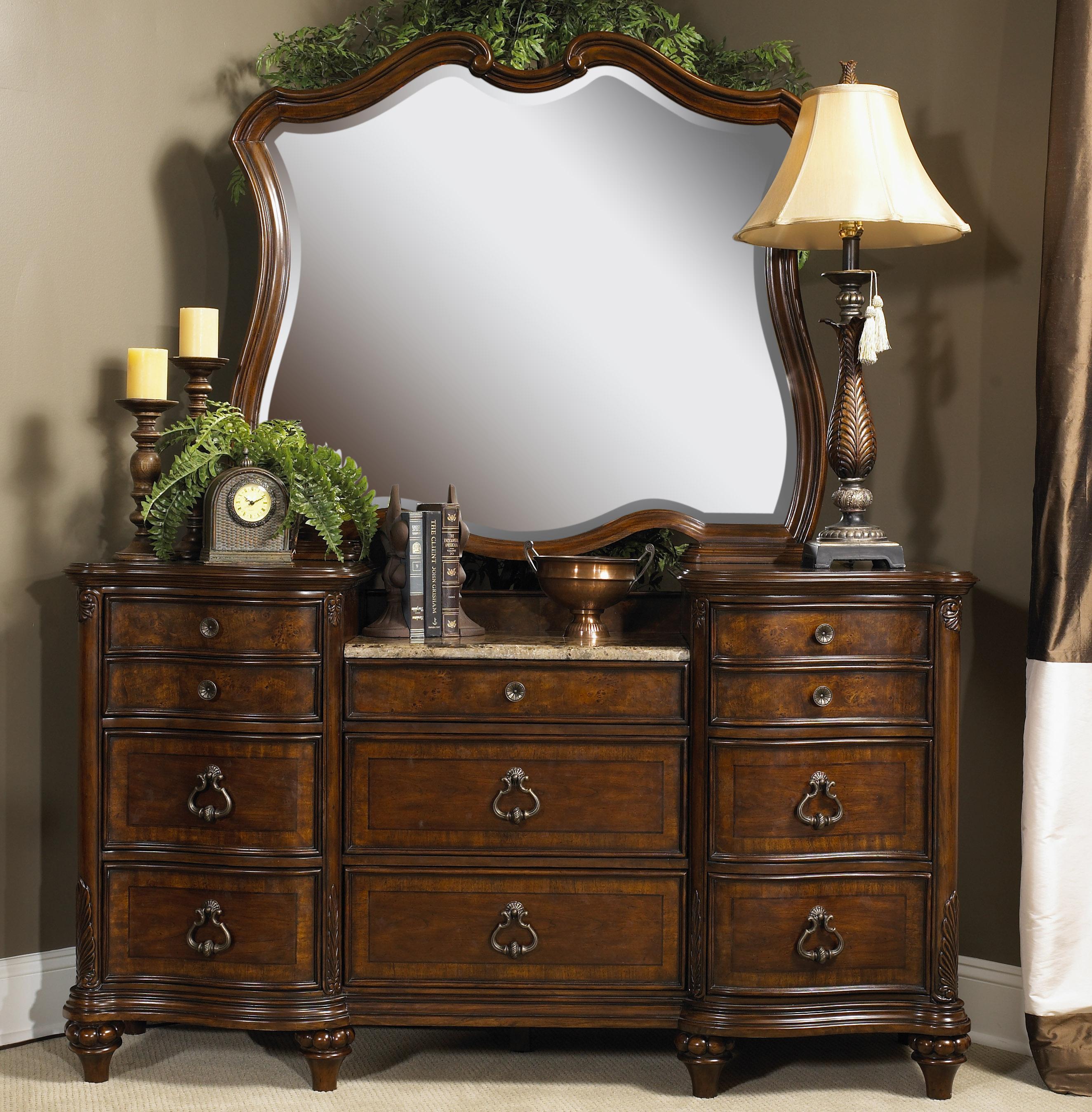 Fairmont Designs Marisol Dresser And Mirror   Item Number: S7057 05+06