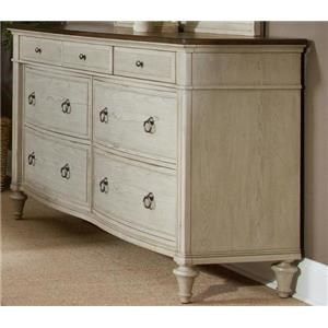 Morris Home Furnishings Rushmore Rushmore Dresser