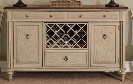 Morris Home Furnishings Rushmore Rushmore Sideboard - Item Number: 751214057