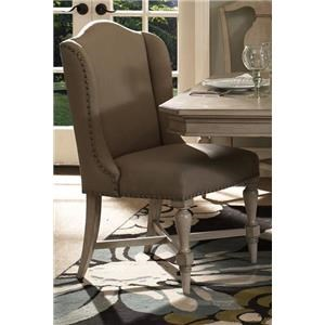 Morris Home Furnishings Rushmore Rushmore Host/Hostess Chair