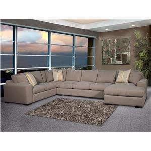 Fairmont Designs Vibe Stationary Sectional Sofa
