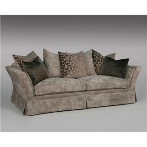 Fairmont Seating Portia Sofa in Aiken Gray