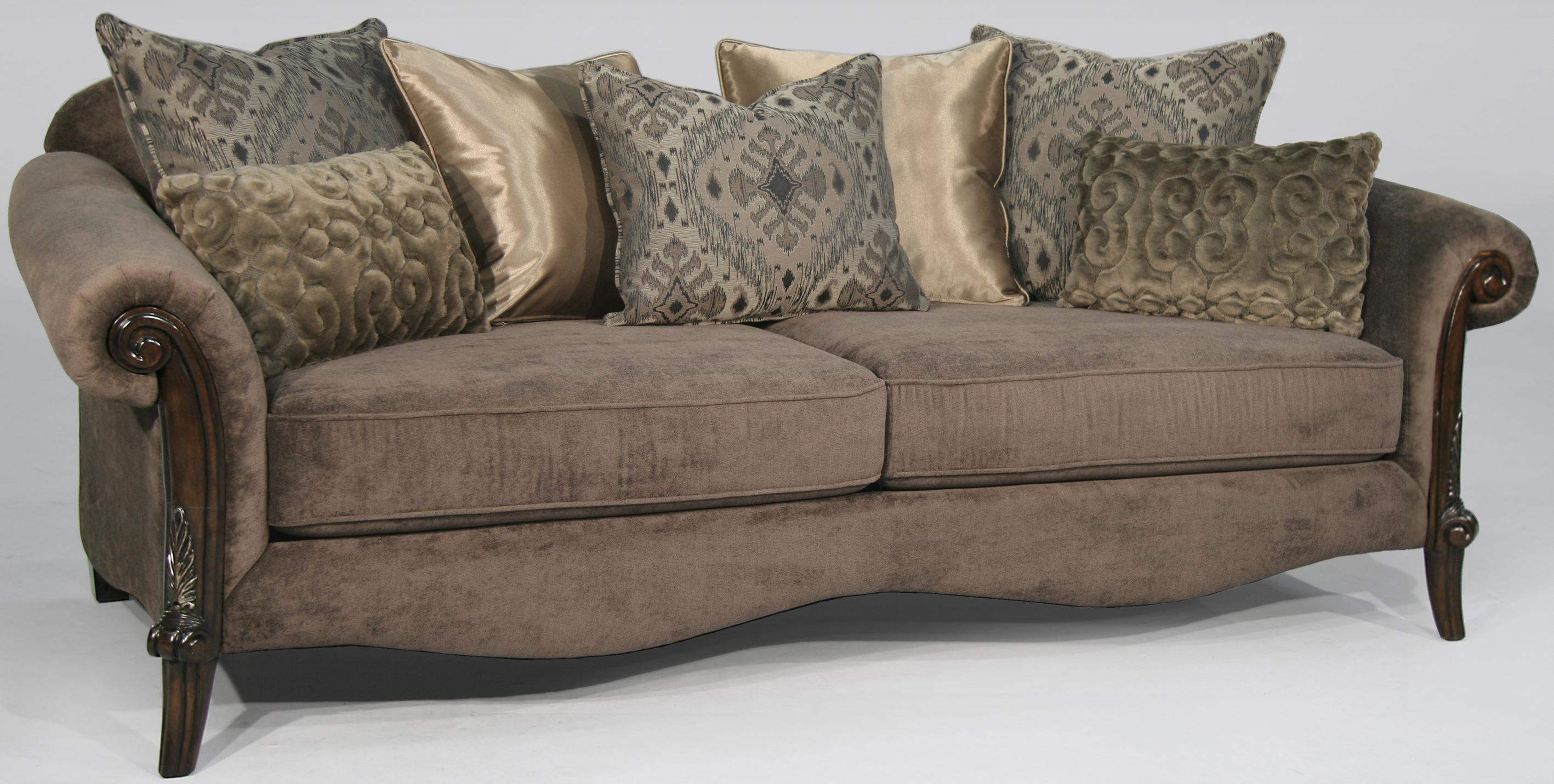 Fairmont Designs Le Marias Stationary Sofa W Rolled Arms Dream Home Furniture Sofa Roswell